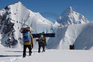 Gondogoro La pass (5685m)