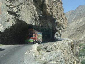 Karakorum High way connects Pakistan & China
