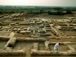 Mohenjo daro Archaeological site of Pakistan