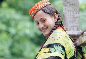 kalash young girl