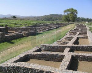 Sirkap Archaeological site Taxila
