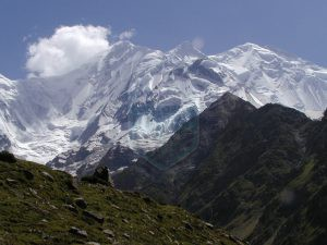 Rakaposhi View from its base camp (Tagafari)