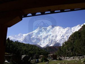 View of Nanga Parbat from Hut
