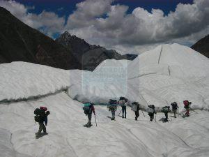 On the way to K2 Base Camp trek - Baltoro Glacier