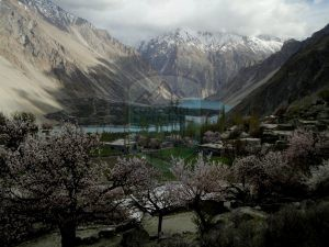 Gulmit  and Atta abad Lake