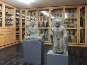 Gandhar antique in museum
