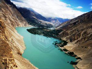 Attaabad Lake(Newly formed on KKH)
