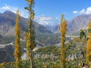 Hunza Karimabad View from Duikar