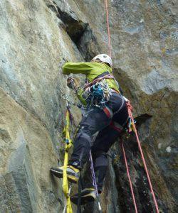 Rock climbing Shipton Spire