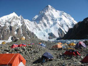 Concordia K2 Base Camp.