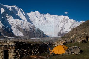 Batura Peak Camp Site