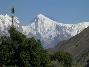 Golden Peak view from Karimabad