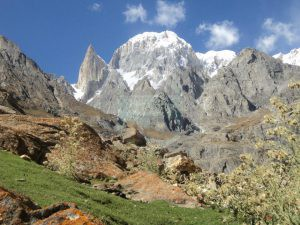 Lady Finger And Hunza Peak View from Ultar Meadows