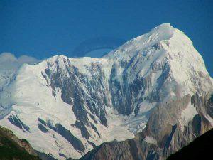 Spantik Peak Top Close up