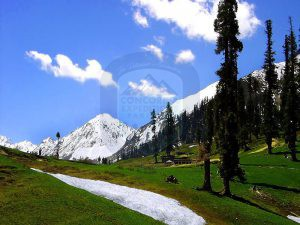 Naran Kaghan Valley In Spring Season